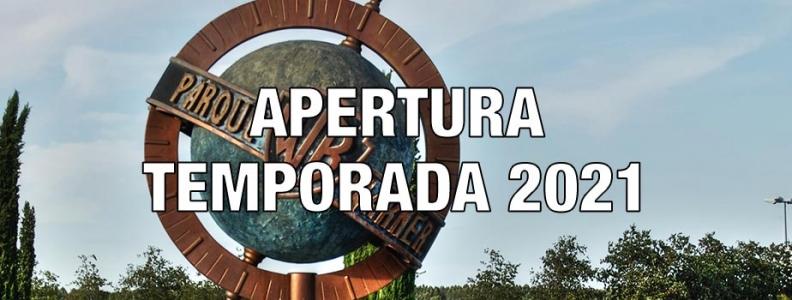 Apertura Parque Warner Madrid, temporada 2021